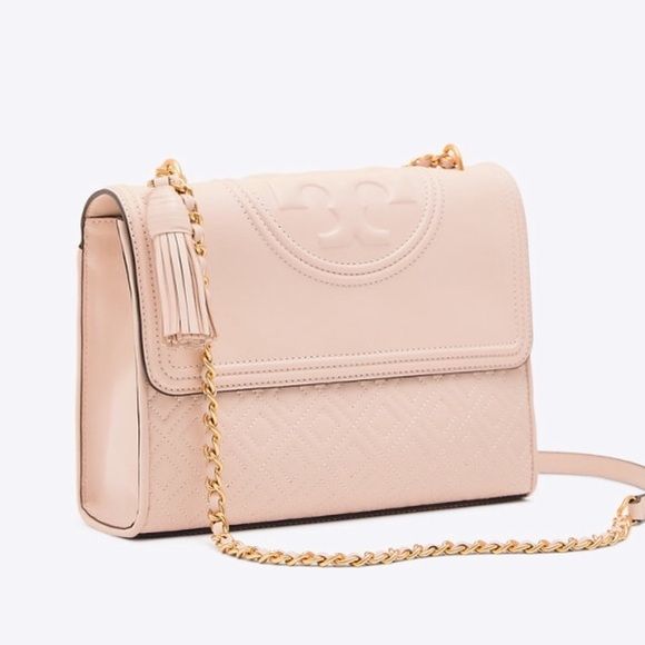 620a141d9ba0 NWT Tory Burch Authentic Fleming Shoulder Bag